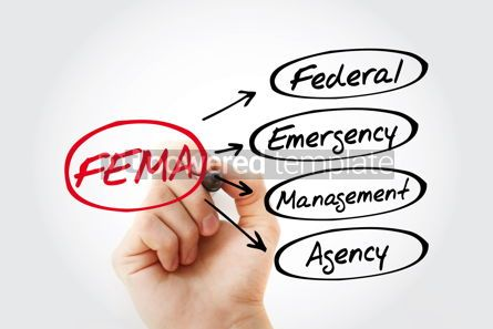 Business: FEMA - Federal Emergency Management Agency acronym concept back #13447
