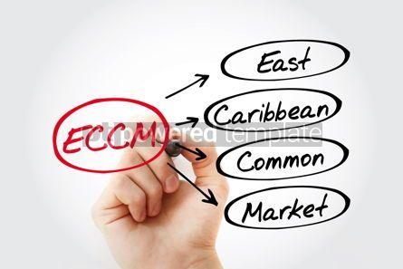 Business: ECCM - East Caribbean Common Market acronym business concept ba #13456