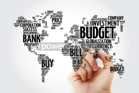 Business: Business and Invest word cloud in shape of world map finance co #13478