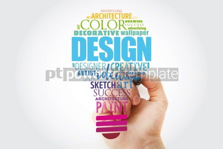 Business: DESIGN light bulb word cloud collage creative business concept #13514