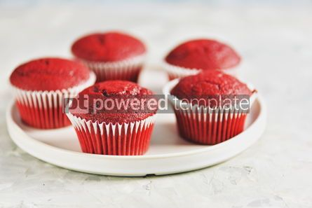 Food & Drink: Classic Red velvet cupcakes #13776