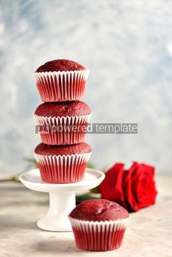 Food & Drink: Classic Red velvet cupcakes #13777