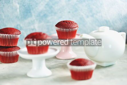 Food & Drink: Classic Red velvet cupcakes #13781