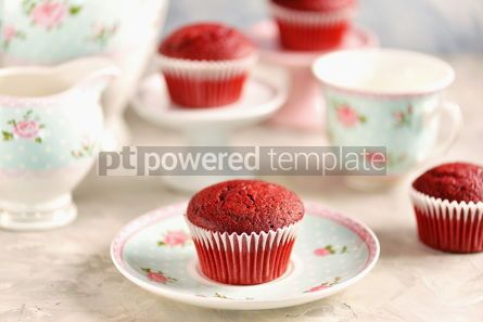 Food & Drink: Classic Red velvet cupcakes #13786