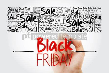 Business: Black Friday Sale word cloud collage business concept backgroun #13902