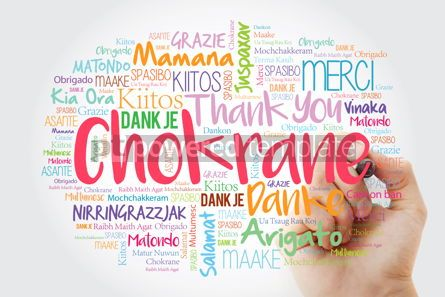 Business: Chokrane Thank You in Arabic - Middle East North Africa Word #14008