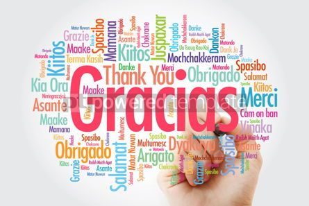 Business: Gracias Thank You in Spanish word cloud in different languages #14021