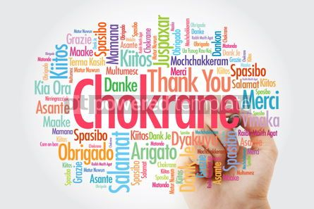 Business: Chokrane Thank You in Arabic - Middle East North Africa Word #14031