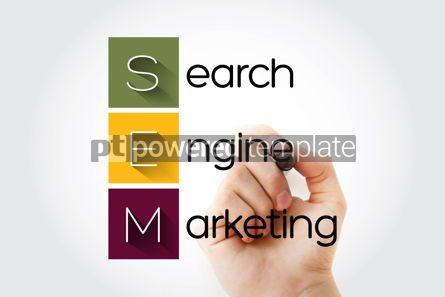 Business: SEM - Search Engine Marketing acronym business concept backgrou #14042