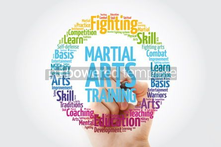 Health: Martial Arts Training word cloud collage concept background #14058