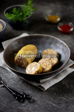 Food & Drink: Homemade Chicken Sausage Delicious and healthy homemade food #14234