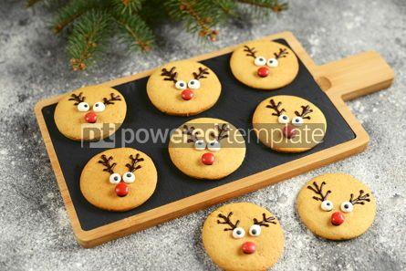 Food & Drink: Cute New Year and Christmas gingerbreads Santa Deer Homemade Christmas baking #14274