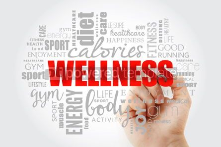 Business: Wellness word cloud collage #14602