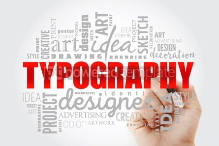 Business: TYPOGRAPHY word cloud collage #14603