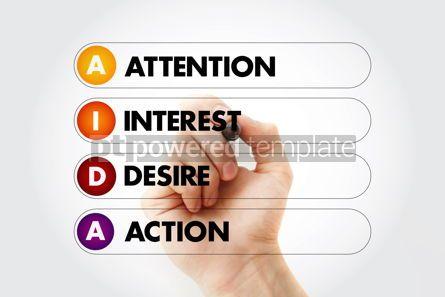 Business: AIDA - Attention Interest Desire Action acronym #14606