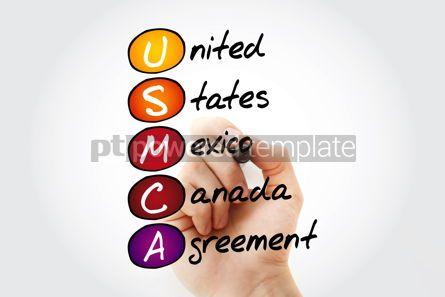 Business: USMCA - acronym concept background #14608