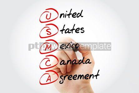 Business: USMCA - acronym concept background #14609