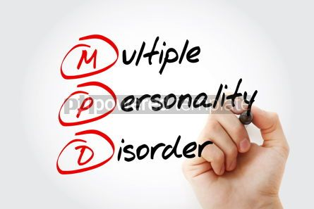 Business: MPD - Multiple Personality Disorder acronym #14615