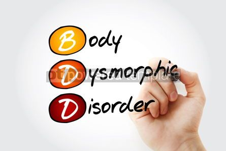 Business: BDD - Body Dysmorphic Disorder acronym #14617