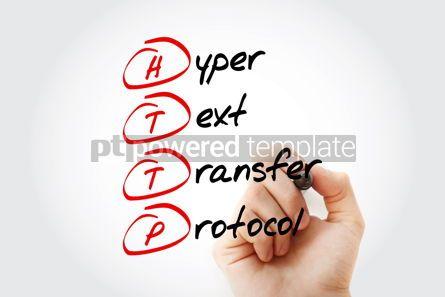 Business: HTTP - Hyper Text Transfer Protocol acronym #14628