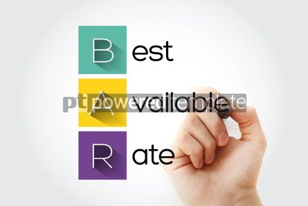 Business: BAR - Best Available Rate acronym business concept background #14640