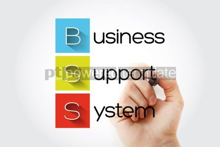 Business: BSS - Business Support System acronym with marker business conc #14643