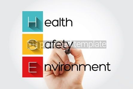 Education: HSE - Health Safety Environment acronym with marker concept bac #14660