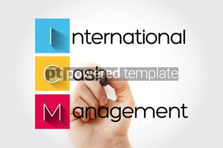 Business: ICM - International Cash Management acronym with marker busines #14676