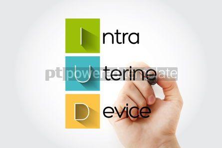 Education: IUD - Intra Uterine Device acronym health concept background #14684