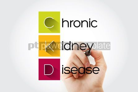 Education: CKD - Chronic Kidney Disease acronym health concept background #14687