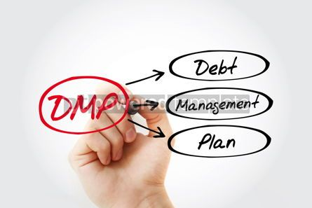 Business: DMP - Debt Management Plan acronym business concept background #14728