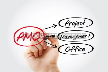 Business: PMO - Project Management Office acronym business concept backgr #14739