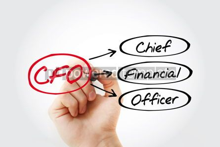 Business: CFO - Chief Financial Officer acronym business concept backgrou #14768