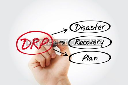 Business: DRP - Disaster Recovery Plan acronym business concept backgroun #14770
