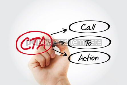 Education: CTA - Call To Action acronym business concept background #14799