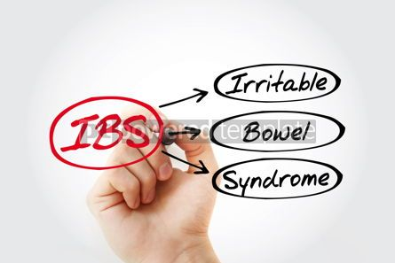 Education: IBS - Irritable Bowel Syndrome acronym health concept backgroun #14801