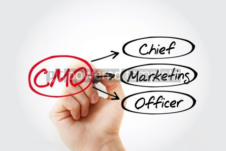 Business: CMO - Chief Marketing Officer acronym business concept backgrou #14821