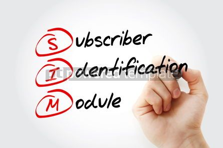 Business: SIM - Subscriber Identification Module acronym #15059