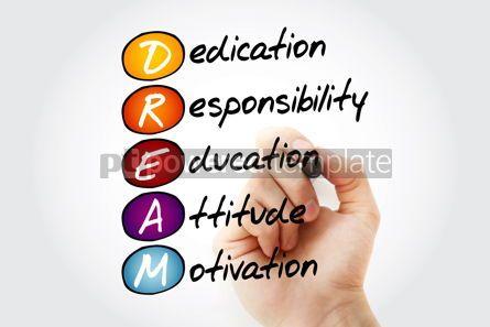 Business: DREAM acronym business concept background #15078