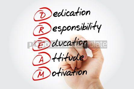 Business: DREAM acronym business concept background #15079