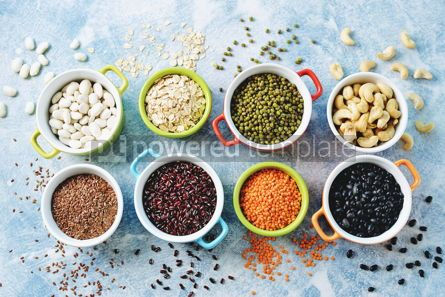Food & Drink: agriculture appetizer appetizing background bean beans beer brown cashew cashew nut closeu #15165