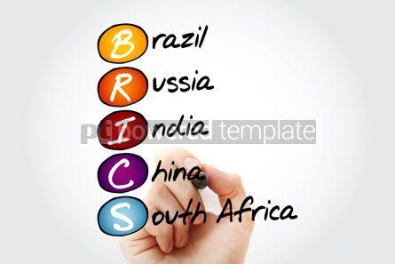 Business: BRICS trade union acronym business concept #15225