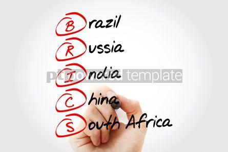 Business: BRICS trade union acronym business concept #15226