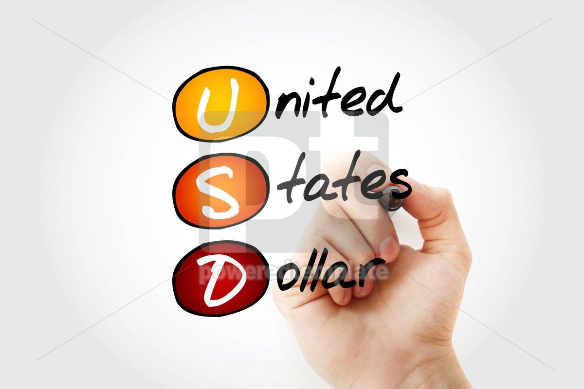 USD - United States Dollar acronym, 15229, Business — PoweredTemplate.com
