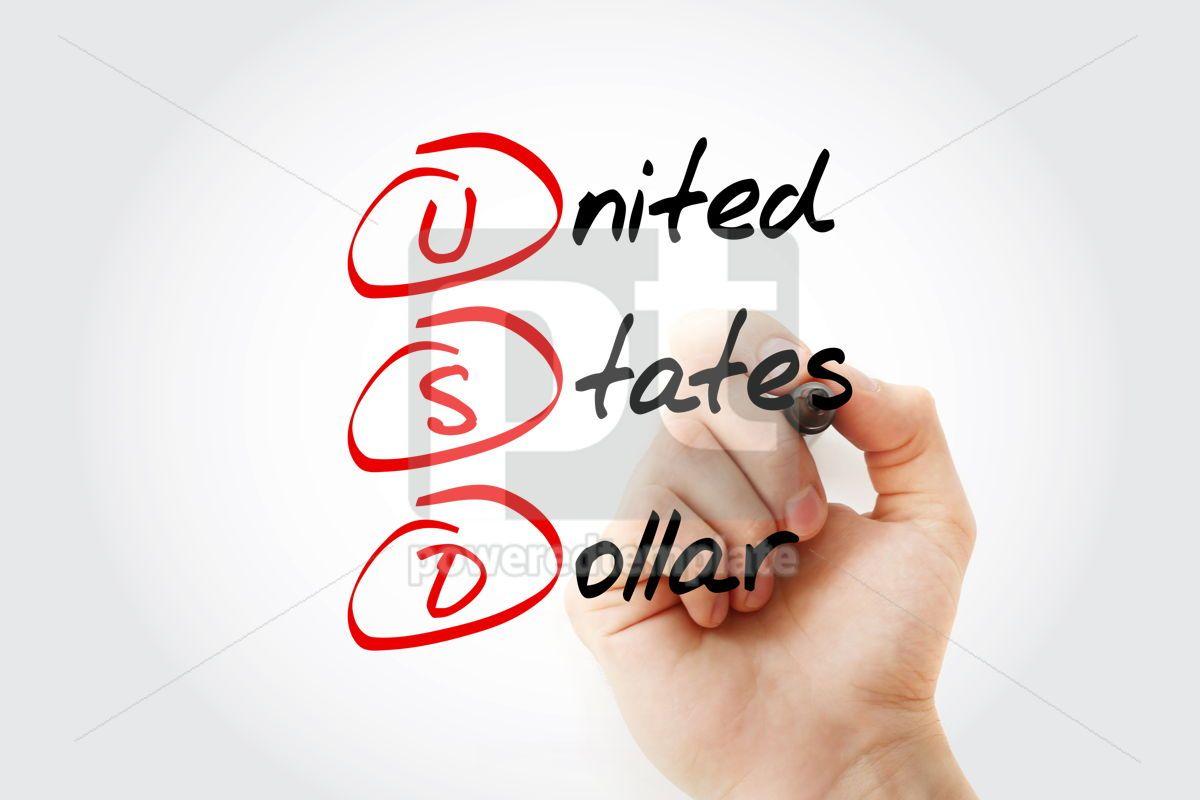 USD - United States Dollar acronym, 15230, Business — PoweredTemplate.com