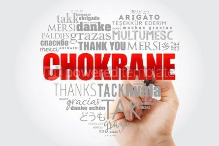 Business: Chokrane Thank You in Arabic Word Cloud #15250