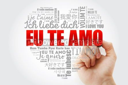 Business: Eu Te Amo I Love You in Portuguese love heart #15260