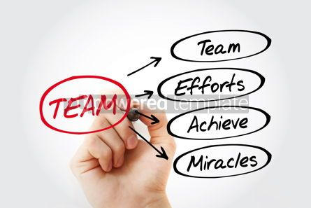 Business: TEAM - Team Effort Achieve Miracles acronym #15282