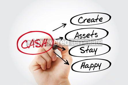 Business: CASH - Create Assets Stay Happy acronym #15283