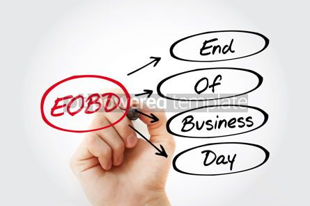 Business: EOBD - End Of Business Day acronym #15291